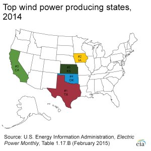 Wind Electricity Map