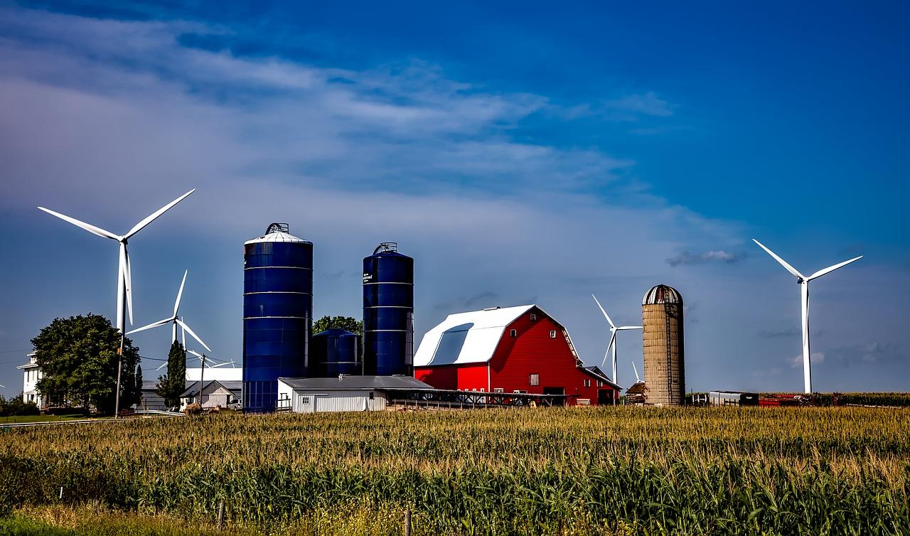 Wind Farm in Iowa